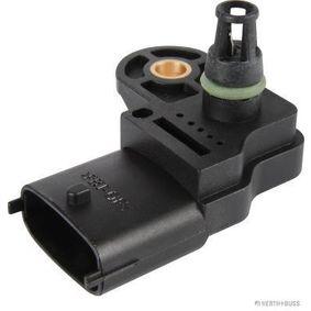 Sensore, Pressione collettore d'aspirazione Tensione: 12V, Resistenza: 2080Ohm, N° raccordi: 4 con OEM Numero 18590 79J61 000