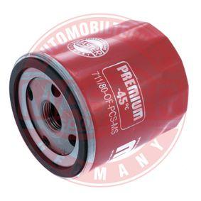 Ölfilter Ø: 76mm, Außendurchmesser 2: 72mm, Innendurchmesser 2: 63mm, Innendurchmesser 2: 63mm, Höhe: 79mm mit OEM-Nummer 140517050
