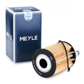 MEYLE Oliefilter 714 322 0007 med OEM Nummer 1109S5