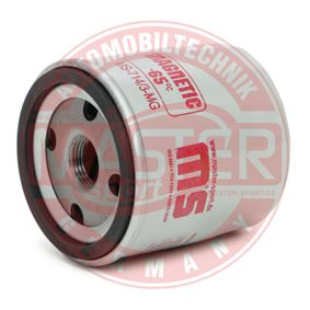 Filtre à huile Ø: 76mm, Diamètre extérieur 2: 71mm, Diamètre intérieur 2: 62mm, Hauteur: 79mm avec OEM numéro 4434792