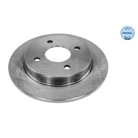Brake Disc Brake Disc Thickness: 10,2mm, Num. of holes: 4, Ø: 253mm with OEM Number 95GB2A315B1C