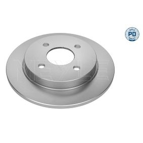 Brake Disc Brake Disc Thickness: 10,2mm, Num. of holes: 4, Ø: 253mm with OEM Number 1 51 4237