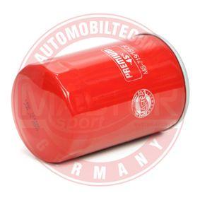 Ölfilter Ø: 76mm, Außendurchmesser 2: 71mm, Innendurchmesser 2: 62mm, Innendurchmesser 2: 62mm, Höhe: 123mm mit OEM-Nummer 11 42 9 061 198
