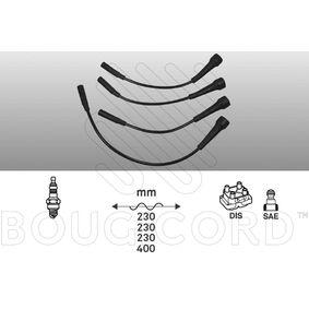 BOUGICORD  7420 Zündleitungssatz Länge 3: 230mm, Länge 4: 400mm
