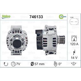 Lichtmaschine Rippenanzahl: 7 mit OEM-Nummer A271154080280
