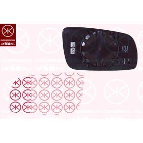 Mirror Glass, outside mirror with OEM Number 6Y1857521P