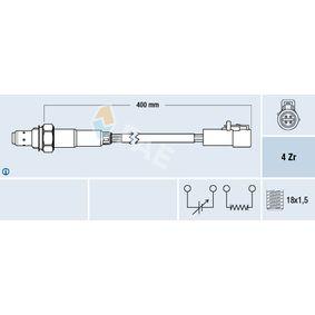 Lambdasonde Kabellänge: 400mm mit OEM-Nummer 8S6A-9F472-AA