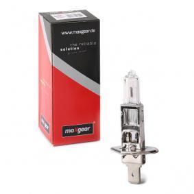 Bulb, spotlight H1, 55W, 12V, Halogen 78-0005 MERCEDES-BENZ C-Class, E-Class, A-Class