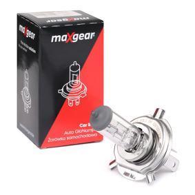 MAXGEAR  78-0009 Glühlampe, Fernscheinwerfer
