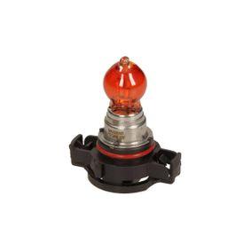 Bulb, indicator Yellow 12V 24W, PSY24W, PG20/4 78-0132 VW GOLF, POLO, PASSAT