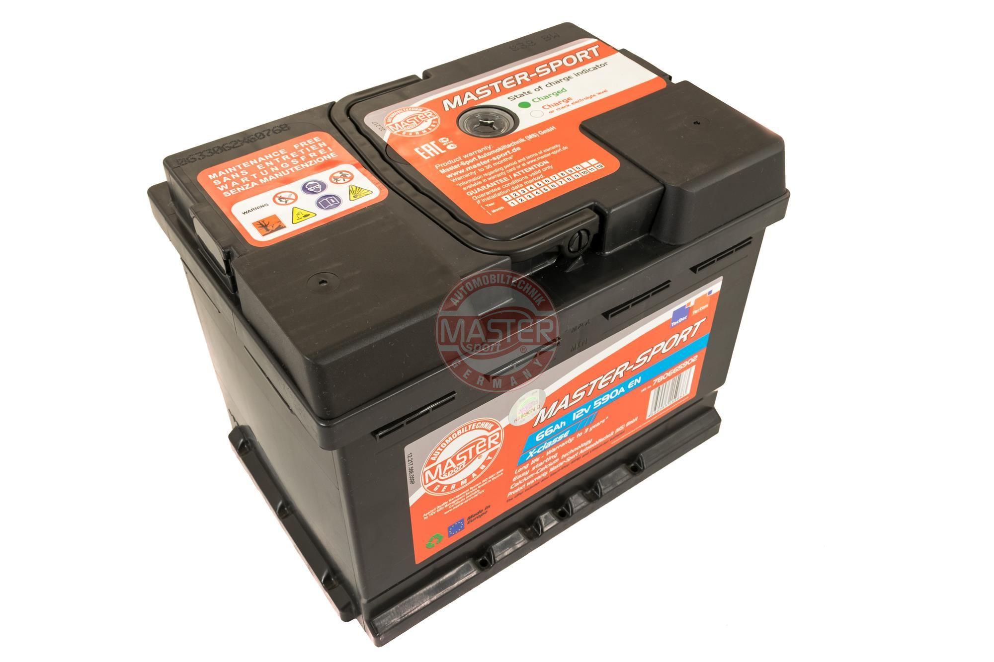 Starterbatterie 780665902 MASTER-SPORT 780665902 in Original Qualität