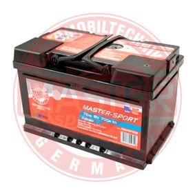 Starterbatterie 780727002 CRAFTER 30-50 Kasten (2E_) 2.5 TDI Bj 2013