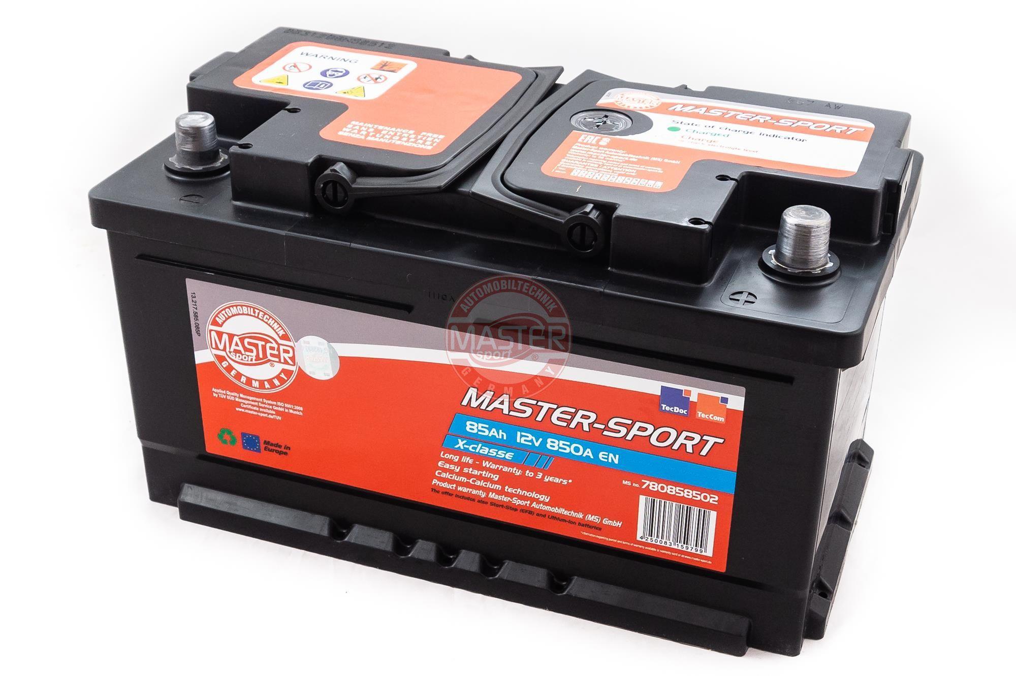 Autobatterien 780858502 MASTER-SPORT 780858502 in Original Qualität
