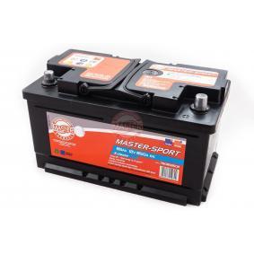 Starterbatterie Polanordnung: 0 mit OEM-Nummer 61218 381 747