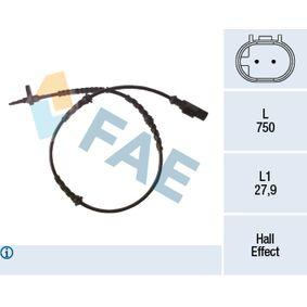 Sensor, wheel speed 78265 PANDA (169) 1.2 MY 2020