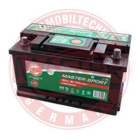 Starterbatterie Polanordnung: 0 mit OEM-Nummer 288000R060