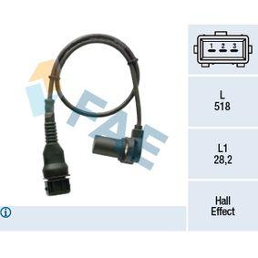Generador de impulsos, cigüeñal con OEM número 1214 7539 165