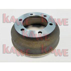 Brake Drum Ø: 280mm with OEM Number 92VB112-6BA
