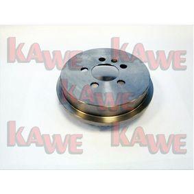 Bremstrommel Ø: 200mm mit OEM-Nummer 6Q0.609.617