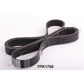 V-Ribbed Belts Length: 1760mm, Number of ribs: 7 with OEM Number 38920-RBA-E02