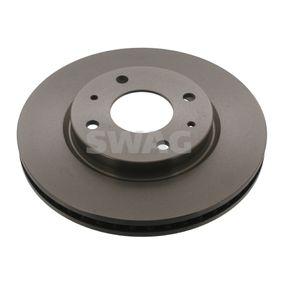 SWAG  80 92 8441 Bremsscheibe Bremsscheibendicke: 26mm, Ø: 276,0mm