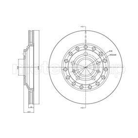 CIFAM  800-1121C Bremsscheibe Bremsscheibendicke: 22,0mm, Lochanzahl: 5, Ø: 310,0mm