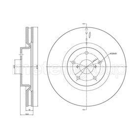 Bremsscheibe 800-1746C IMPREZA Schrägheck (GR, GH, G3) 2.5 WRX STI AWD (GRF) Bj 2013