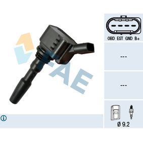 Ignition Coil Number of Poles: 4-pin connector with OEM Number 04C905110 B