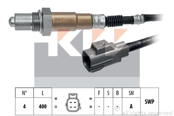 KW  806 089 Zündverteilerkappe Made in Italy - OE Equivalent