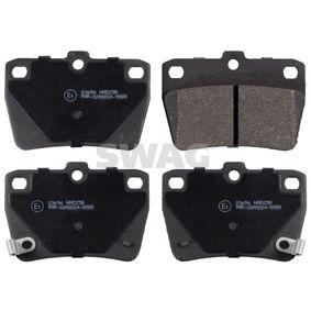 Brake Pad Set, disc brake 81 91 6723 RAV 4 II (CLA2_, XA2_, ZCA2_, ACA2_) 2.0 MY 2001