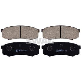 Bremsbelagsatz, Scheibenbremse Breite: 44,0mm, Dicke/Stärke 1: 16mm mit OEM-Nummer 4605A389