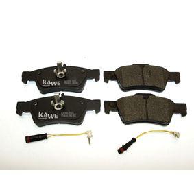 Bremsbelagsatz, Scheibenbremse Höhe 1: 59,8mm, Höhe 2: 57,5mm, Dicke/Stärke: 16,4mm mit OEM-Nummer 0 064 20 0120