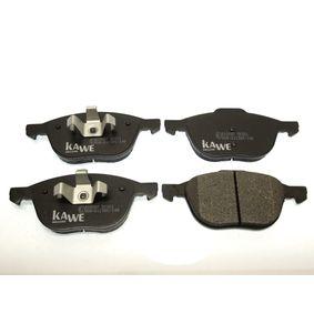 Bremsbelagsatz, Scheibenbremse Höhe 1: 62,52mm, Höhe 2: 67,21mm, Dicke/Stärke: 18mm mit OEM-Nummer B3YH-332-3Z