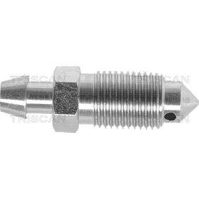 Entlüfterschraube / -ventil, Bremssattel mit OEM-Nummer 41128AW70A