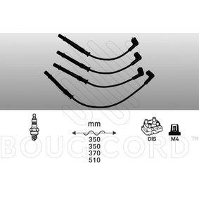 BOUGICORD  8115 Zündleitungssatz Länge: 350mm, Länge 3: 370mm, Länge 4: 510mm