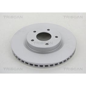 Bremsscheibe Bremsscheibendicke: 26mm, Lochanzahl: 5, Ø: 296mm mit OEM-Nummer 40206 JD00A