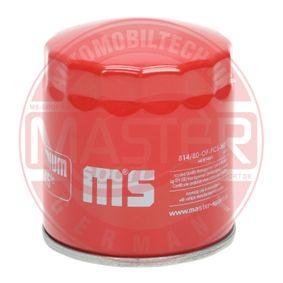 Ölfilter Ø: 82mm, Außendurchmesser 2: 66mm, Innendurchmesser 2: 57mm, Innendurchmesser 2: 57mm, Höhe: 92mm mit OEM-Nummer 15400 PC6 004