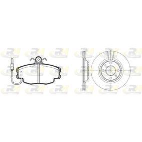 Bremsensatz, Scheibenbremse Bremsscheibendicke: 20,6mm mit OEM-Nummer 77012-05653