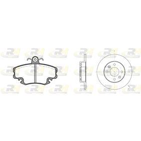 Renault Clio 2 1.2 (BB0A, BB0F, BB10, BB1K, BB28, BB2D, BB2H, CB0A,... Bremsensatz ROADHOUSE Dual Kit 8141.04 (1.2LPG (BB0A, CB0A) Benzin 2006 D7F 726)