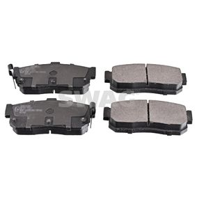 Bremsbelagsatz, Scheibenbremse Breite: 46,7mm, Dicke/Stärke 1: 16,3mm mit OEM-Nummer AY060-NS015