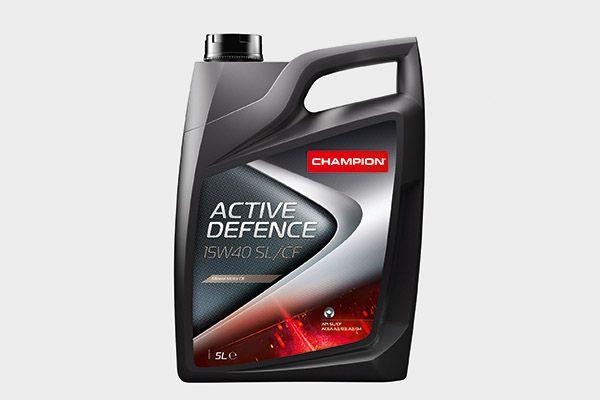 CHAMPION LUBRICANTS ACTIVE DEFENCE, CHAMPION ACTIVE DEFENCE 15W40 SL/CF, 15W40 SL/CF 8200618 Motoröl