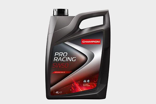 CHAMPION LUBRICANTS CHAMPION PRO RACING 5W50, PRO RACING 8205118 Motoröl