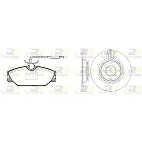 Bremsensatz, Scheibenbremse Bremsscheibendicke: 20,6mm mit OEM-Nummer 77 01 205 653