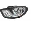 Headlamps VAN WEZEL 10279790 Left, H4, with motor for headlamp levelling