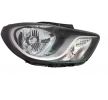 Headlamps VAN WEZEL 10279791 Right, H4, with motor for headlamp levelling