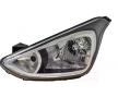 Headlamps VAN WEZEL 10279821 Left, H4, with motor for headlamp levelling