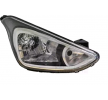 Headlamps VAN WEZEL 10279822 Right, H4, with motor for headlamp levelling