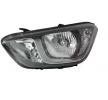 OEM Headlight VAN WEZEL 10280243 for HYUNDAI