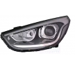 Headlamps VAN WEZEL 10280411 Left, HIR2, Housing with black interior, without motor for headlamp levelling, without LED