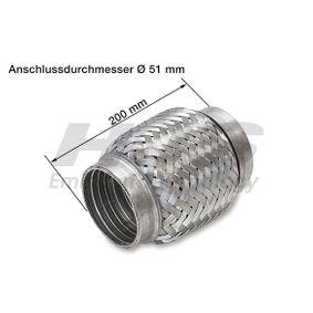 HJS  83 00 8501 Flexrohr, Abgasanlage Innendurchmesser: 50mm